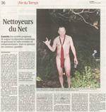 Le Temps - Nettoyeurs du Net